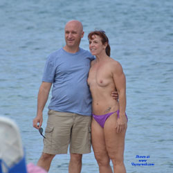 What The Press Missed In Cuba - Beach Voyeur, Big Tits