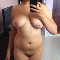 Selfies For My Fans - Big Tits, Bush Or Hairy