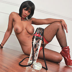Hard As Diamond - Masturbation, Ebony, Big Tits, Toys