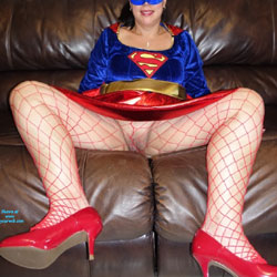 Super Wife - Wives In Lingerie, Lingerie, Costume, Big Tits
