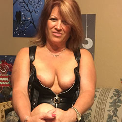 Leather - Big Tits