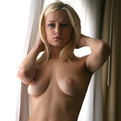 Morning Light Thru The Curtains - Big Tits, Blonde