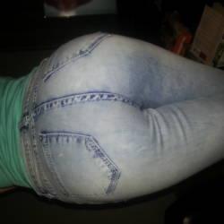 My girlfriend's ass - Irish girl
