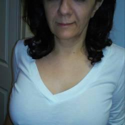 Very large tits of my girlfriend - Riba