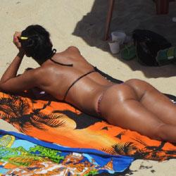 Janga Beach, Brazil - Beach Voyeur, Brunette