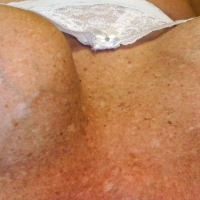 Medium tits of my wife - Sue