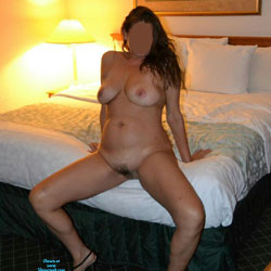 My Hotel Room Fun - Big Tits, Brunette, Bush Or Hairy