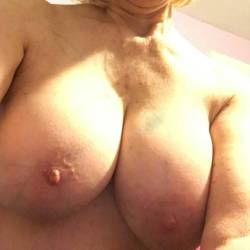 Very large tits of my girlfriend - Margaret