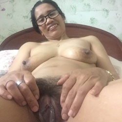My Hairy Filipina Pussy - Big Tits, Brunette, Bush Or Hairy, Asian