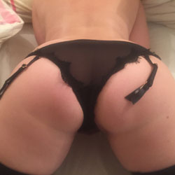 Wife's Sexy Ass - Lingerie, Wife/Wives