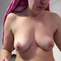 Medium tits of my wife - Marrow