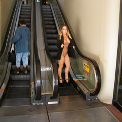 Getting Naked Outside - Big Tits, Exposed In Public, Flashing, Heels, Nude In Public