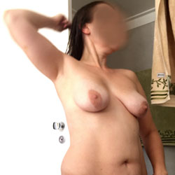 After Shower - Big Tits, Wife/Wives, Bush Or Hairy