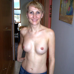 Sexy Slim Blonde - Big Tits, Blonde