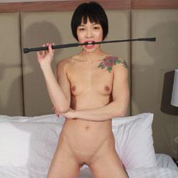 Mis Whip - Brunette, Tattoos, Asian