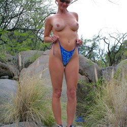 Lost My Suit - Big Tits, Nature, Wife/Wives