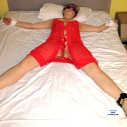 Tie Me Up In Red - Lingerie, Toys