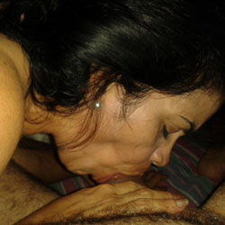 Ana la Tremenda II - Blowjob, Brunette