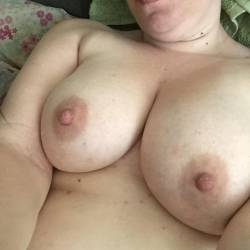 Large tits of my wife - Lynn