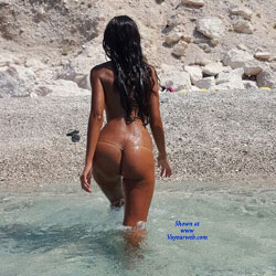 Summer In Greece - Beach, Brunette, GF