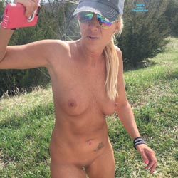 Rest Stop - Big Tits, Blonde
