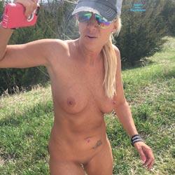 Rest Stop - Big Tits, Blonde