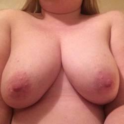 Large tits of my girlfriend - sharron
