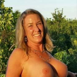 Large tits of my wife - Bridgette