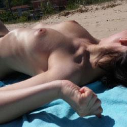 First Day On The Beach - Beach