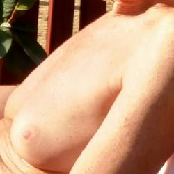 Very small tits of my wife - MILF1954