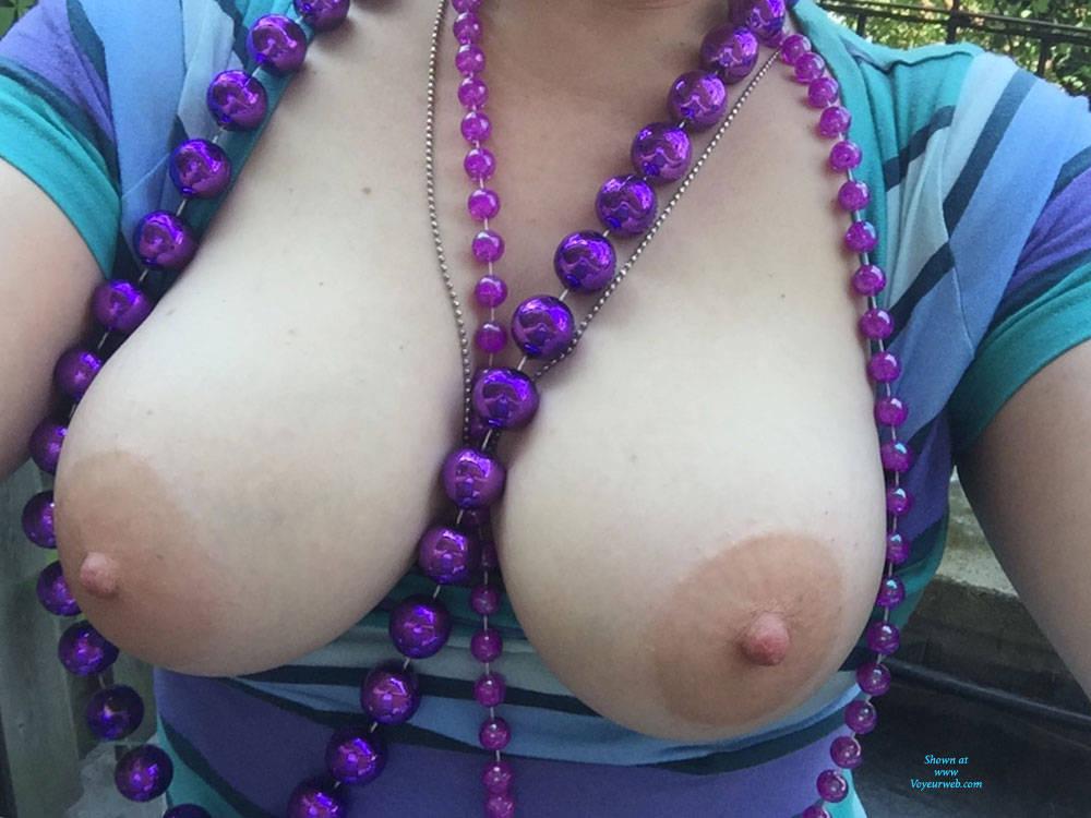 Friend Cums My Wifes Tits