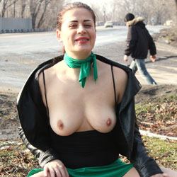 Sexy Viko - Big Tits, Brunette, Flashing, Public Exhibitionist, Public Place, Wife/Wives