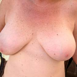 Large tits of my wife - Marianne