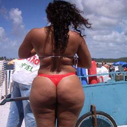 Selma Brasil And Lane Bliss - Beach, Brunette