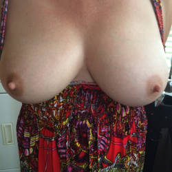 Large tits of my wife - Canadian Made