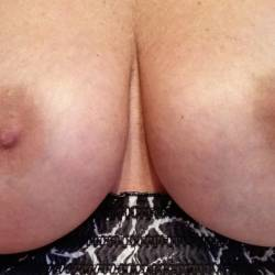 Large tits of my wife - HornyCouple68