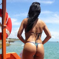 Coqueirinho Beach, Brazil - Brunette