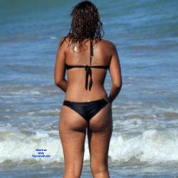 Drunk Girl In Recife City - Beach Voyeur, Bikini Voyeur