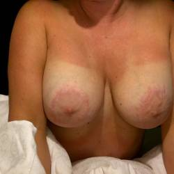 Large tits of my girlfriend - Sweet Baby