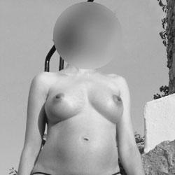 Pregnant In The Sun - Big Tits, Lingerie