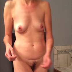 Getting Ready For Shower - Big Tits, Wife/Wives