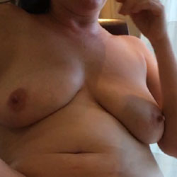 My Cougar Awsome Boobs I Get To Hold Each Night - Big Tits