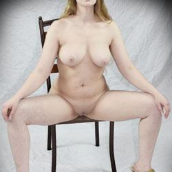 Little Gray Dress - Big Tits, High Heels Amateurs