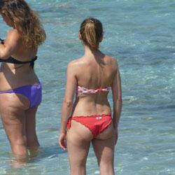 Swimsuit voyeur photos