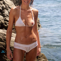 First Time Topless - Topless Amateurs, Big Tits, Beach