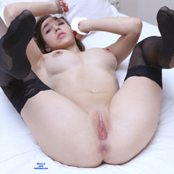 Fuck Me Handcuffed - Big Tits, Brunette, Shaved
