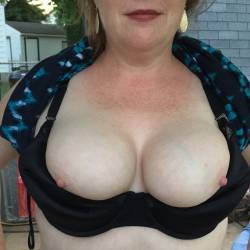 Very large tits of my wife - FIRE CRACKER