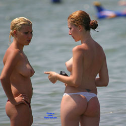 Big Ass 2 The Right One? - Beach Voyeur, Bikini Voyeur