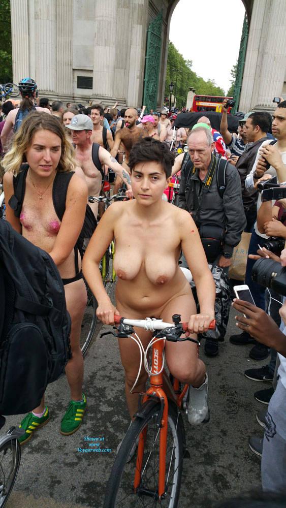 Nude Bike Ride London 2016 - Big Tits , Breastssss...... I Want To Suck........ Press..