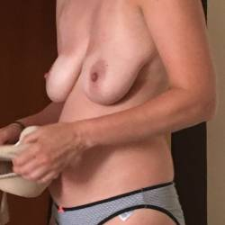 Large tits of my wife - Katy